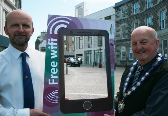 Photograph of High-fi For Wick And Thurso - Free Wifi Is Rolled Out To Caithness Towns