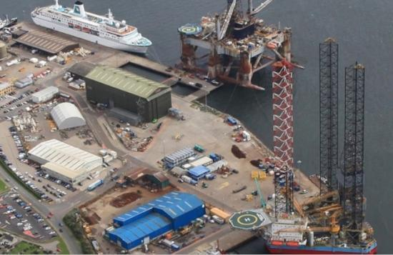 Photograph of Port of Cromarty Firth invests £30 million in a new energy and cruise hub