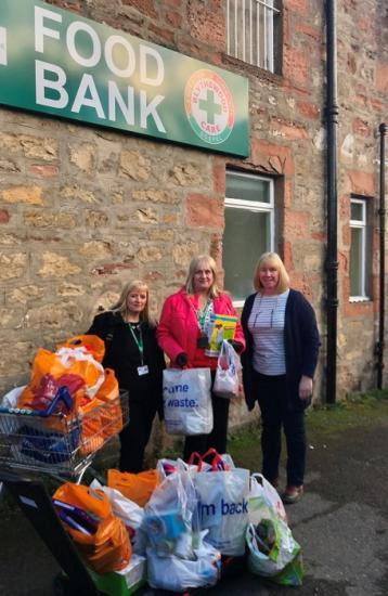 Photograph of Council Staff Swap Secret Santa For Highland Foodbank Donations