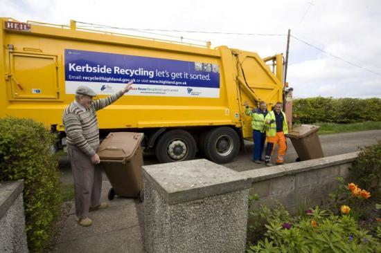 Photograph of Caithness Recycling Service Expands