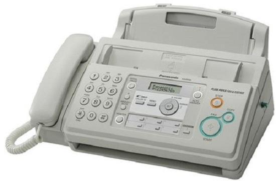 Photograph of NHS should be banned from buying fax machines