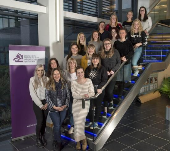 Photograph of University Of The Highlands And Islands Welcomes First Cohort Of Midwifery Students