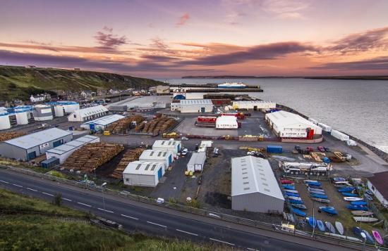 Photograph of Scrabster Harbour Prepares For Further Major Developments