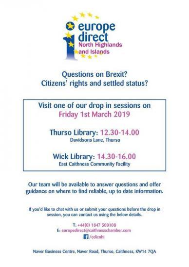 Photograph of Brexit Drop-in Sessions - To Find Out About Your Citizen Status