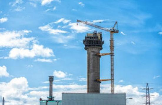 Photograph of Nuclear Decommissioning - Demolition Starts On Windscale Chimney