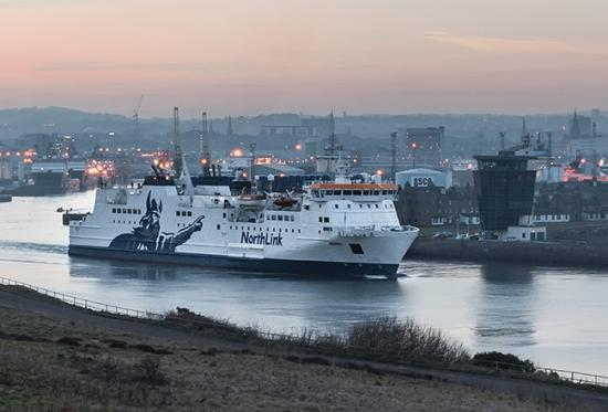 Photograph of NorthLink Ferries to Star in STV Documentary
