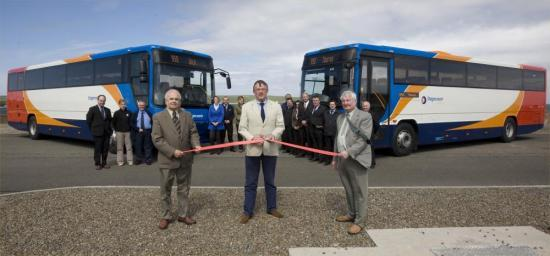 Photograph of Stagecoach Launch New Buses In Caithness