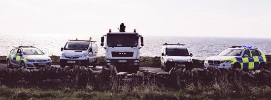 Photograph of Police and DVLA Swoop On Unlicensed Vehicles in Caithness