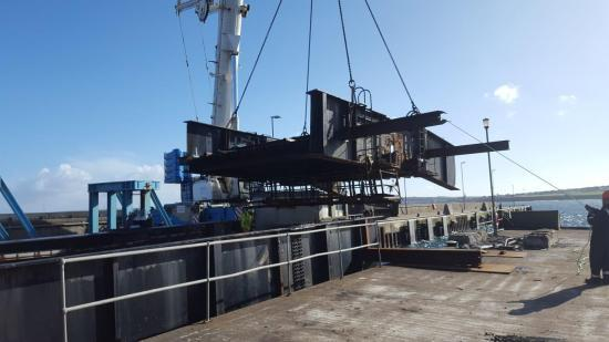 Photograph of Leask Marine Successfully Complete Decommissioning Of Ola Pier Linkspan