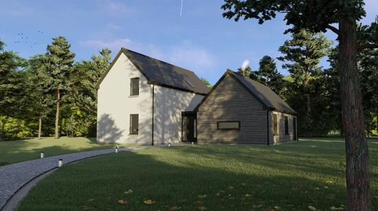 Photograph of Self-build expert in Caithness launches new eco home concept