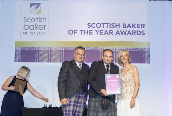 Photograph of Reids Bakery tastes success in Scottish Baker of the Year 2019/20 Competition