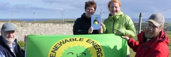 Photograph of Foula Signs Up To Clean Islands Energy Transition Pledge