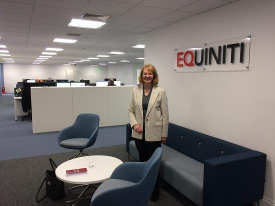 Photograph of Equiniti welcomed to Thurso Business Park