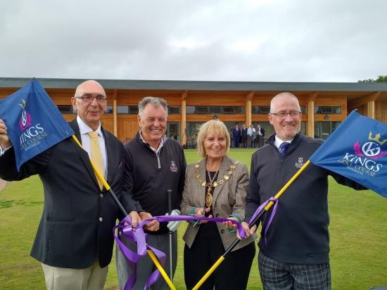 Photograph of Golf club opening marks significant investment in Highland