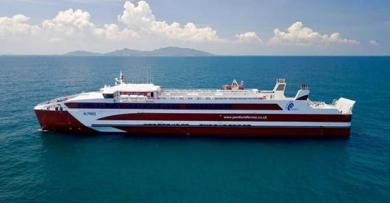 Photograph of New Ferry For Pentland Ferries On Its Way From Vietnam