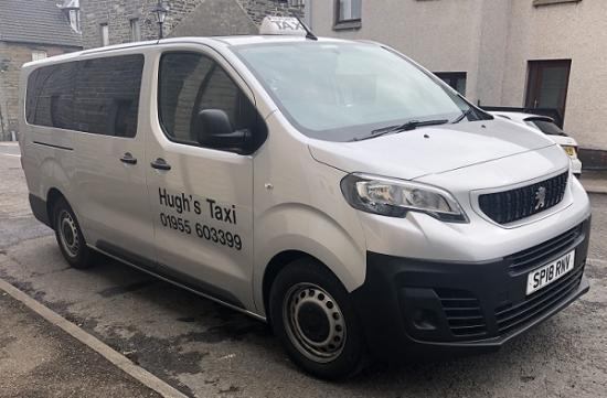 Photograph of 7 Seater Taxi Should Help Groups Get About Caithness