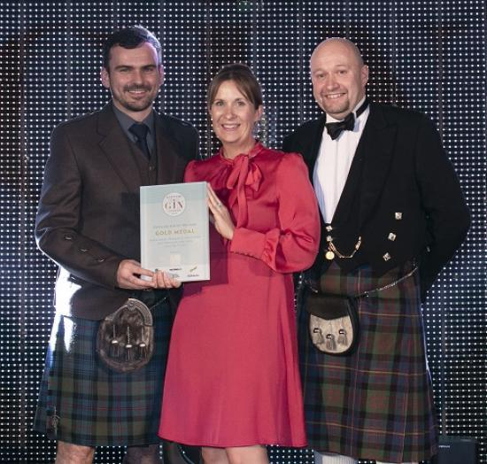 Photograph of Dunnet Bay Distillers Is Scottish Gin Distillery Of The Year At The Scottish Gin Awards 2019