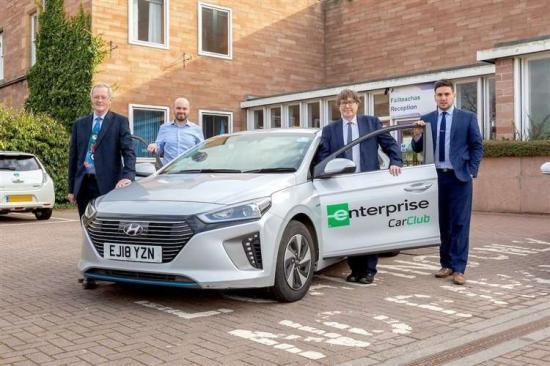 Photograph of Highland Council Cuts 800,000+ Miles With Enterprise Car Club Saving £400,000