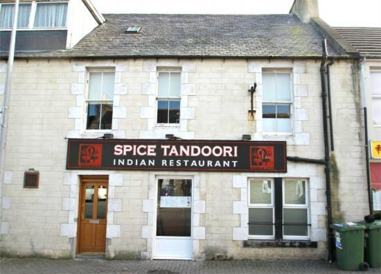 Photograph of LEASEHOLD of an established Tandoori Restaurant in Thurso for Sale
